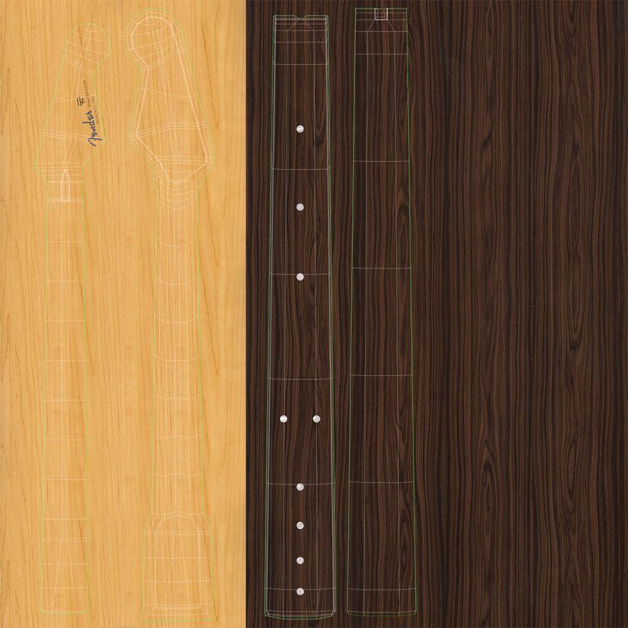 Elektrische Gitarre royalty-free 3d model - Preview no. 31