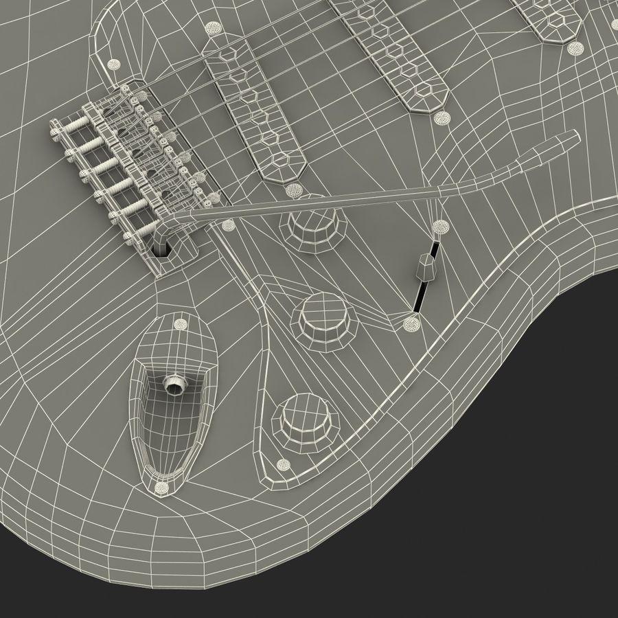 Elektrische Gitarre royalty-free 3d model - Preview no. 45