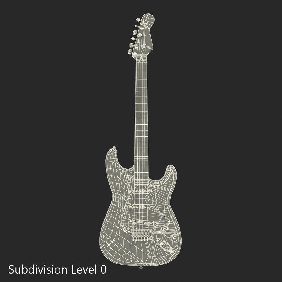 Elektrische Gitarre royalty-free 3d model - Preview no. 28