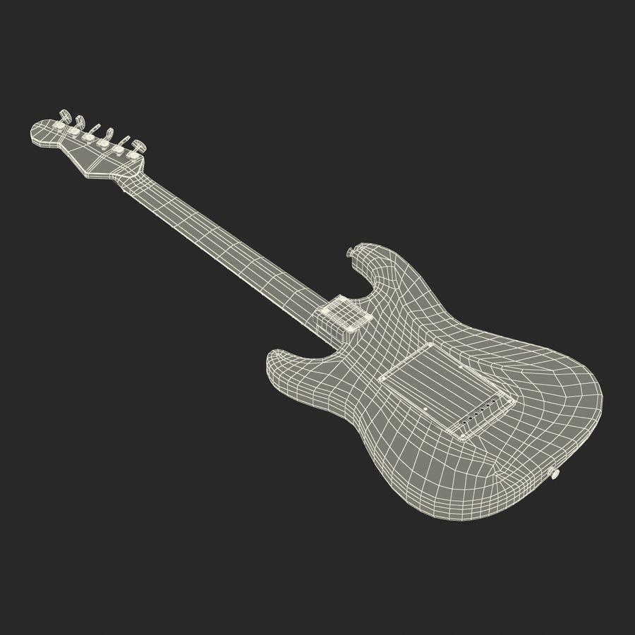 Elektrische Gitarre royalty-free 3d model - Preview no. 38