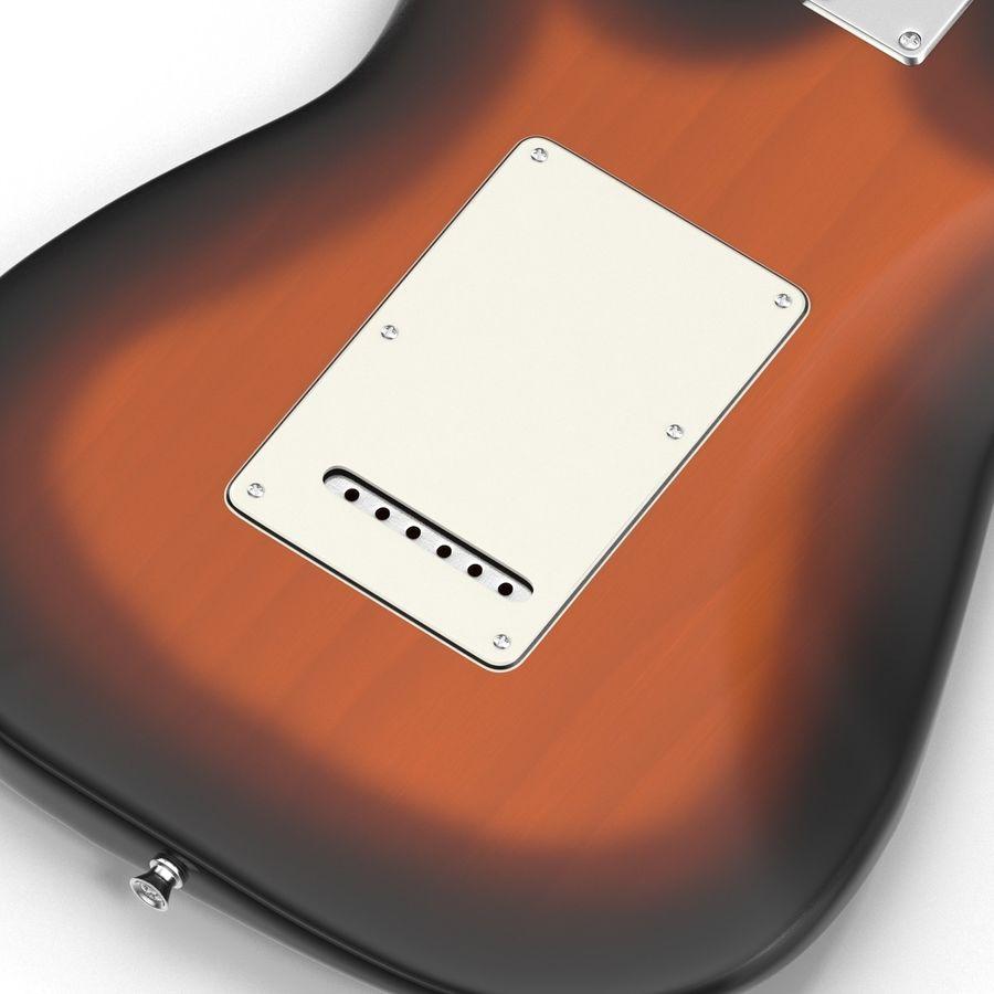 Elektrische Gitarre royalty-free 3d model - Preview no. 26