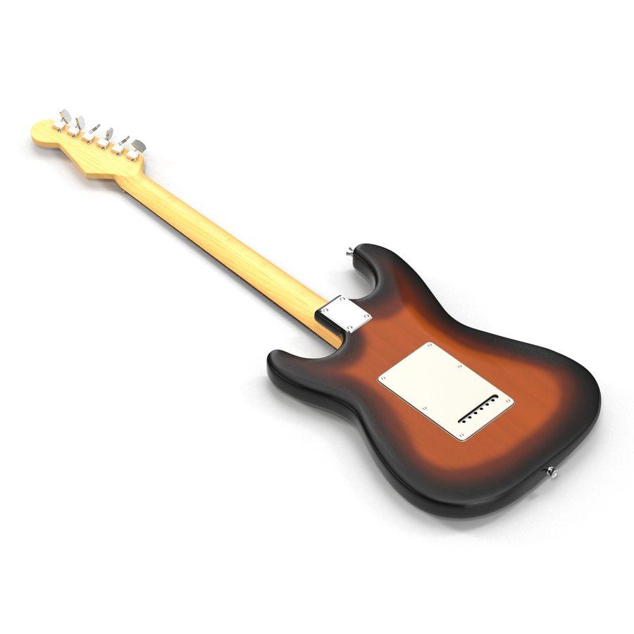 Elektrische Gitarre royalty-free 3d model - Preview no. 7