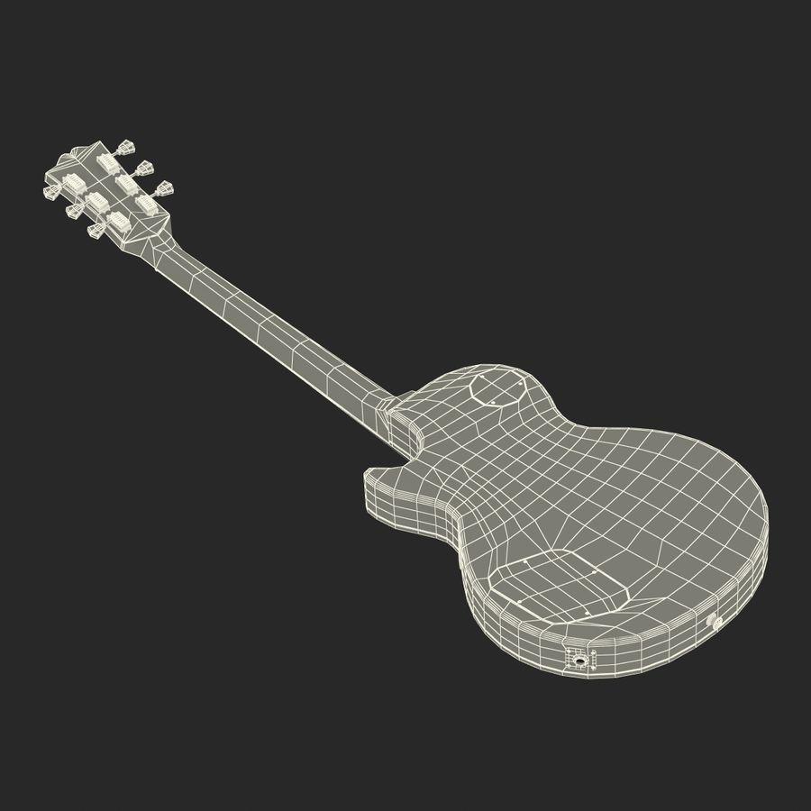 Elektrisk gitarr 2 royalty-free 3d model - Preview no. 37