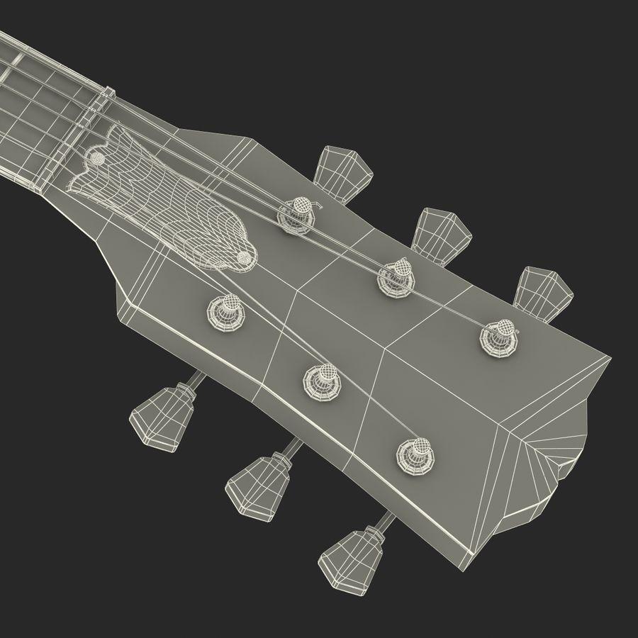 Elektrisk gitarr 2 royalty-free 3d model - Preview no. 42