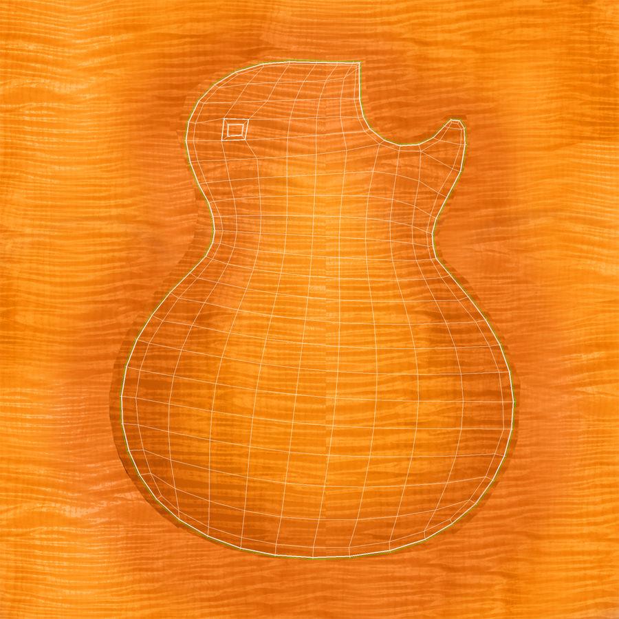 Elektrisk gitarr 2 royalty-free 3d model - Preview no. 31