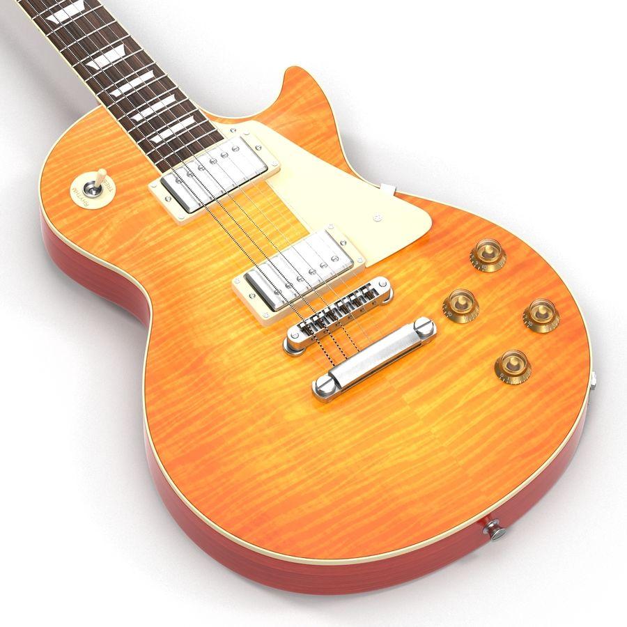 Elektrisk gitarr 2 royalty-free 3d model - Preview no. 15
