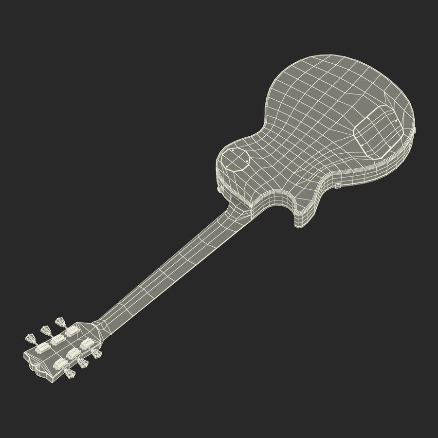 Elektrisk gitarr 2 royalty-free 3d model - Preview no. 38