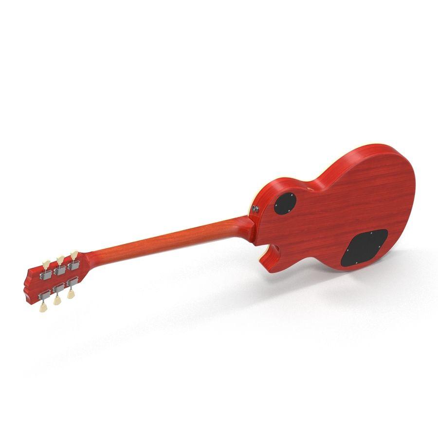 Elektrisk gitarr 2 royalty-free 3d model - Preview no. 12