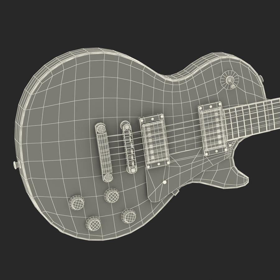 Elektrisk gitarr 2 royalty-free 3d model - Preview no. 39