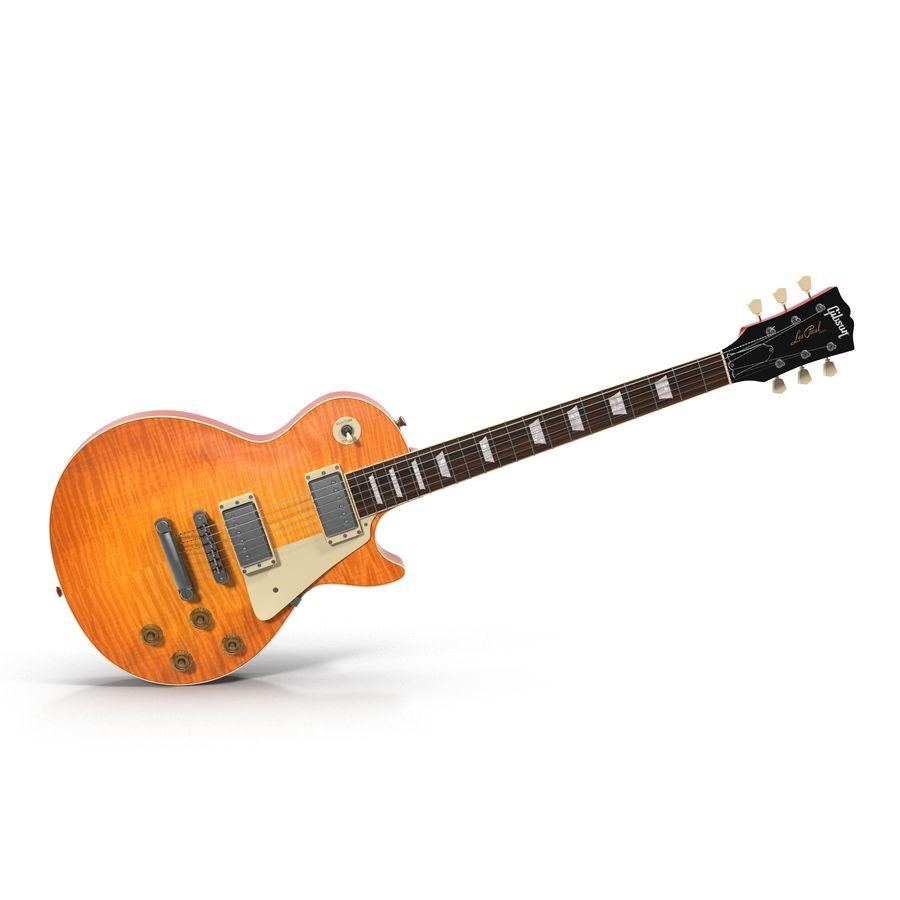 Elektrisk gitarr 2 royalty-free 3d model - Preview no. 2