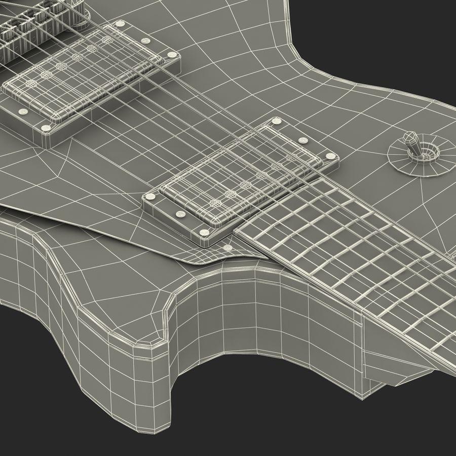 Elektrisk gitarr 2 royalty-free 3d model - Preview no. 45