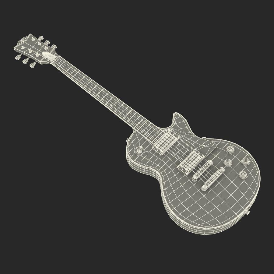 Elektrisk gitarr 2 royalty-free 3d model - Preview no. 35