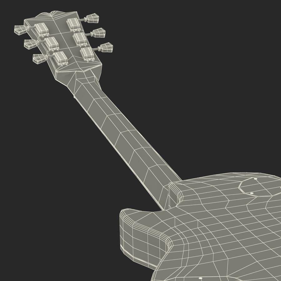 Elektrisk gitarr 2 royalty-free 3d model - Preview no. 50