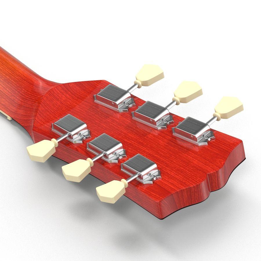 Elektrisk gitarr 2 royalty-free 3d model - Preview no. 24