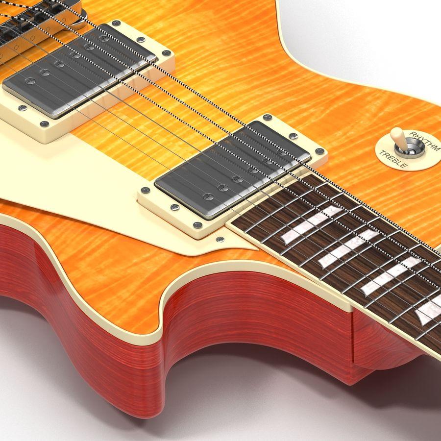 Elektrisk gitarr 2 royalty-free 3d model - Preview no. 20