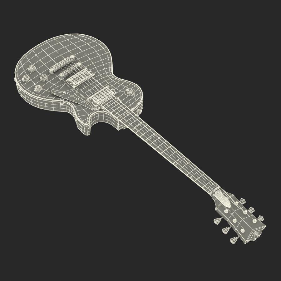 Elektrisk gitarr 2 royalty-free 3d model - Preview no. 36