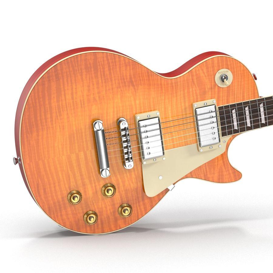 Elektrisk gitarr 2 royalty-free 3d model - Preview no. 13
