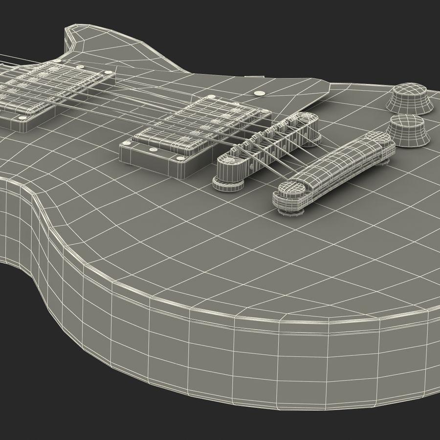 Elektrisk gitarr 2 royalty-free 3d model - Preview no. 47