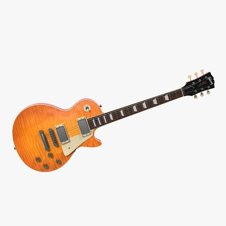 Elektrisk gitarr 2 royalty-free 3d model - Preview no. 1