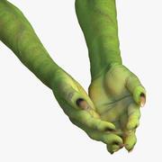 Goblin Hands Pose 2 3D Model 3d model