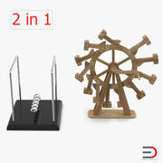 Sürekli Hareket Makineleri Koleksiyonu 3d model