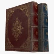 Middeleeuwse boeken 3d model