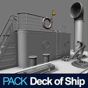 Dek van het schip 3d model
