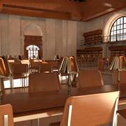 Внутренняя библиотека (1) 3d model