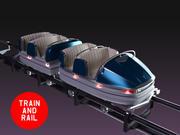 Roller Coaster Car 3d model