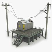 发电站 3d model