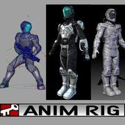 Lac Astro Suit 3d model