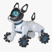 Toy Robot Dog 3d model