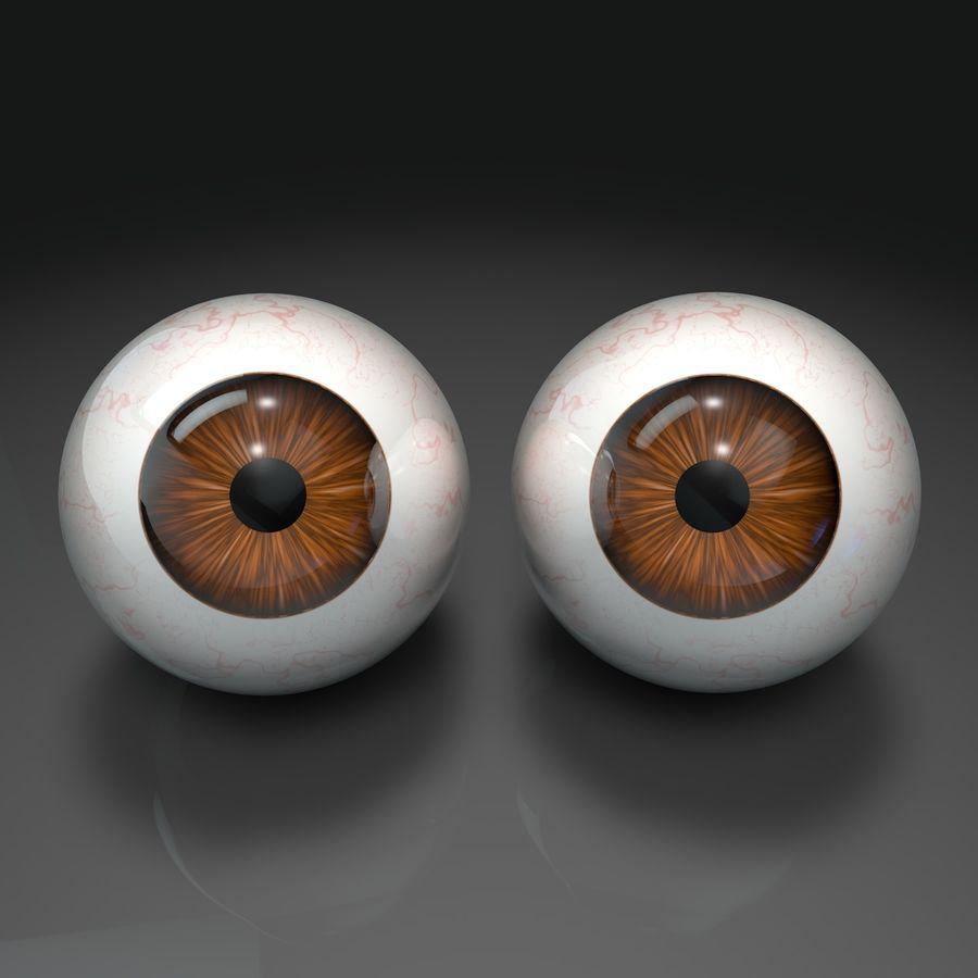 인간의 눈 royalty-free 3d model - Preview no. 3