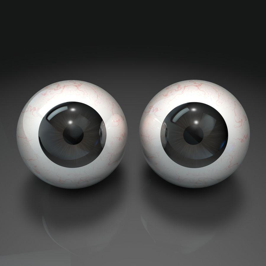 인간의 눈 royalty-free 3d model - Preview no. 2
