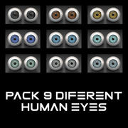 OLHOS HUMANOS 3d model