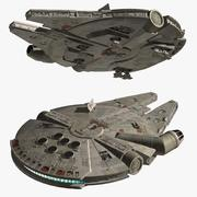 Millennium Falcon II 3d model