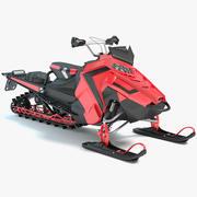 雪地车 3d model