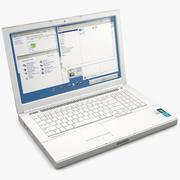Laptop Computer 2 3d model