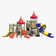 Parque infantil para crianças 3d model