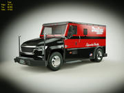 Generic Armored Truck v2 3d model