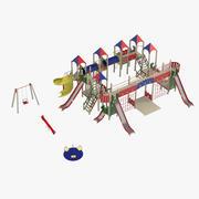 Outdoor Playground Equipment 3d model
