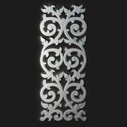 Panneau décoratif sculpté 3d model