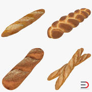 Bakery Products Collection 3d model