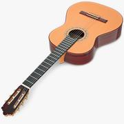 Classic Guitar 3d model