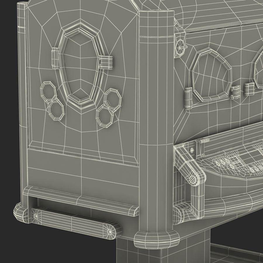 유아 인큐베이터 royalty-free 3d model - Preview no. 36