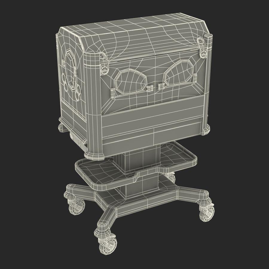 유아 인큐베이터 royalty-free 3d model - Preview no. 30