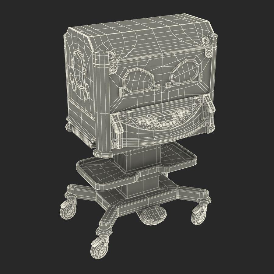 유아 인큐베이터 royalty-free 3d model - Preview no. 29