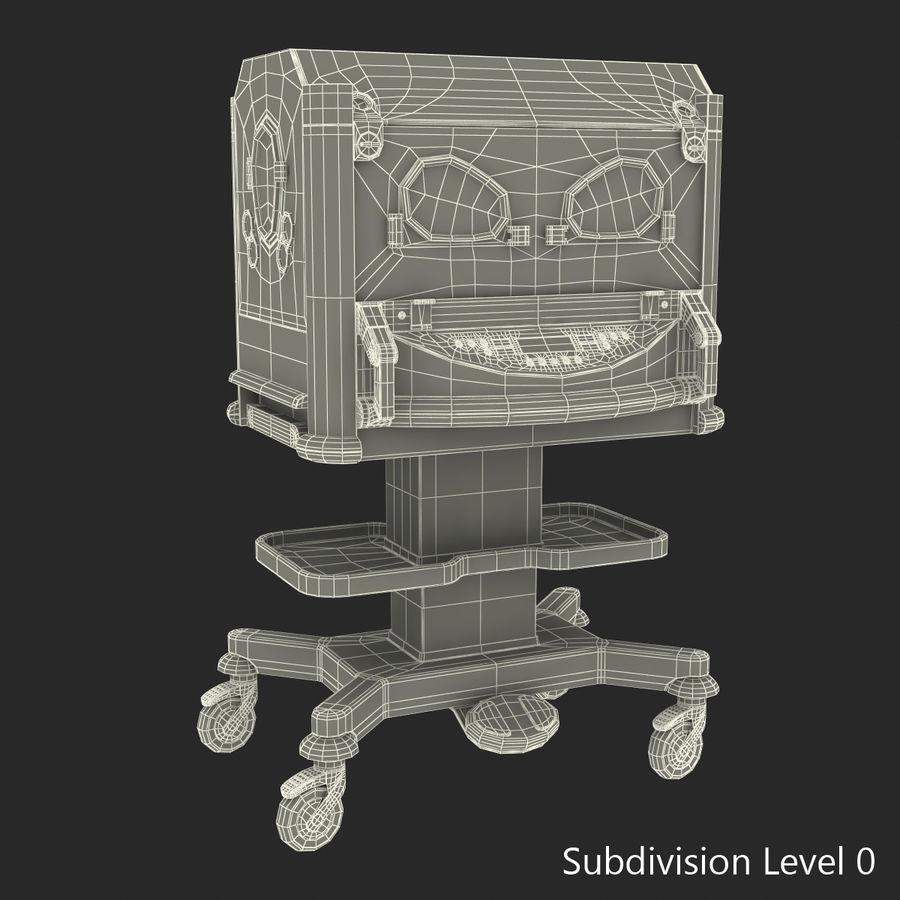 유아 인큐베이터 royalty-free 3d model - Preview no. 24