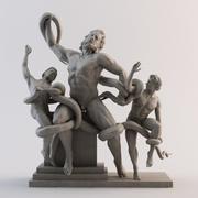 彫像1 3d model