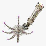 Steampunk Robotarm 3d model